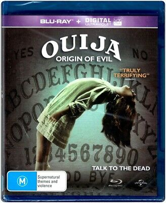 """OUIJA: ORIGIN OF EVIL"" Blu-ray + Digital UV - Region [B] NEW"