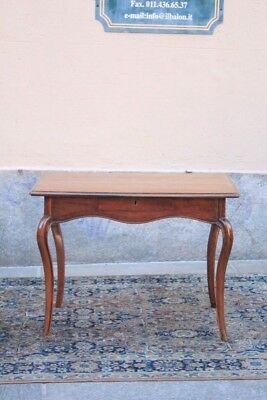 Table Baroque Piedmont, Period Eighteenth Century / Table Nut / Table Baroque