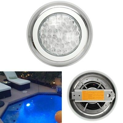 290mm 12V 24W Swimming Pool Light RGB Multi-color Stainless Steel Waterproof LED
