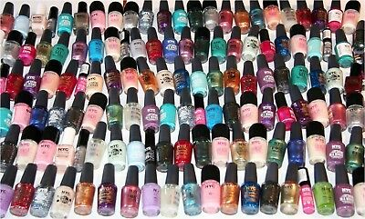 280 x NYC Assorted Nail Polish | RRP Over £1000 | 40 shades | One Off Clearance