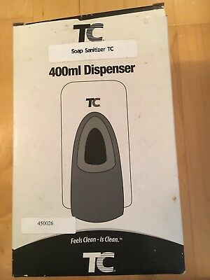 TC Instant Hand Sanitizer Dispenser Brand New 400ML