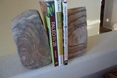 Picture Rock Bookends- Handcrafted - found near Moab, Utah