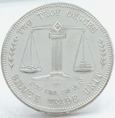 Crabtree Mint Paradise, California 100 Dollars 2 Troy oz .999 Silver Coin