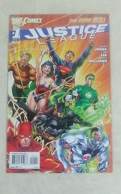 Justice League #1 New 52  NM 1ST PRINT