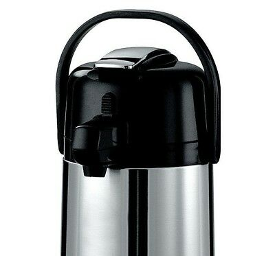 2.2 Liter Stainless Steel Airpot Glass Interior Keep Hot Coffee/Water Up to 8 HR