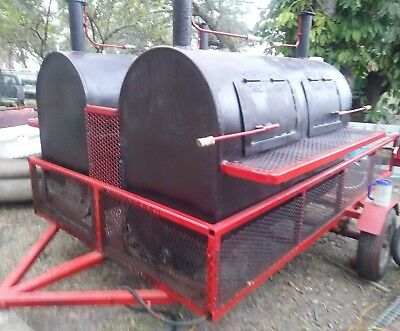 Custom Built Commercial Smoker Grill