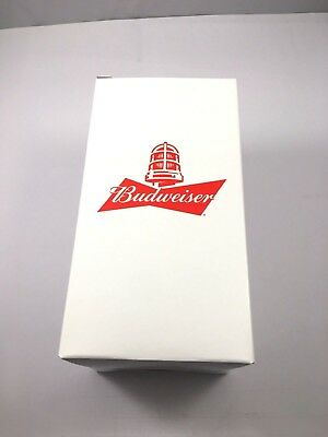 New limited edition Budweiser Red Light-up Glass Synchronize To Any Hockey Team