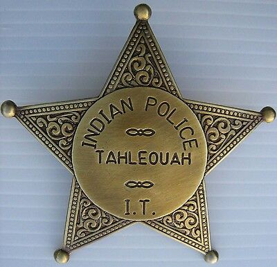 SHERIFF STERN   INDIAN POLICE   MARSHAL   USA   WILD WEST   COUNTRY - Ref.08