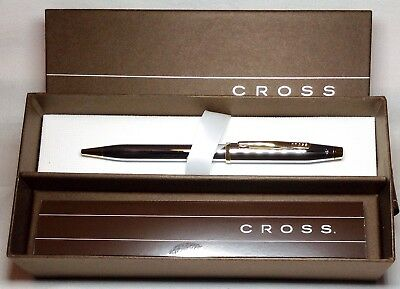 Cross Century II Medalist Ball Pen Chrome G/P Trim New in Box Product