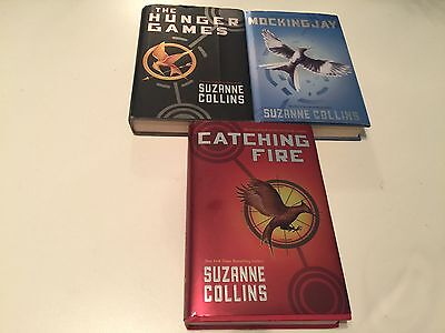 The Hunger Games Trilogy HB Books Set of 3 With DJ Hardcover