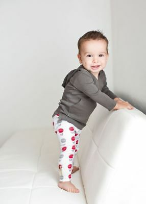 L'oved Baby l'ovedbaby Organic Cotton Leggings Gender Neutral NWT sz 6/9 M