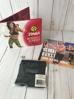 DVD Body Workout Set of 5 Zumba Dance Cardio Slimdown Exercise