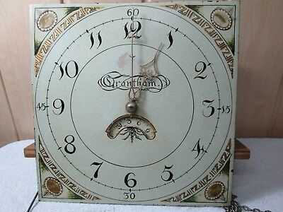 30.Hour Grandfather Clock With Dial and Movement and pendulum and weights