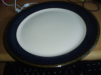 Very Large serving plate BHS Brecon blue pattern 33cm vgc