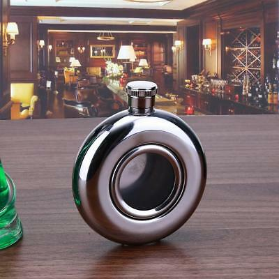 5oz Drink Liquor Round Stainless Steel Pocket Wine Bottle Hip Flask Flagons Gift