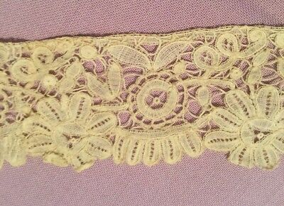 Beautiful Hand Made ANTIQUE LACE - Vintage Restoration
