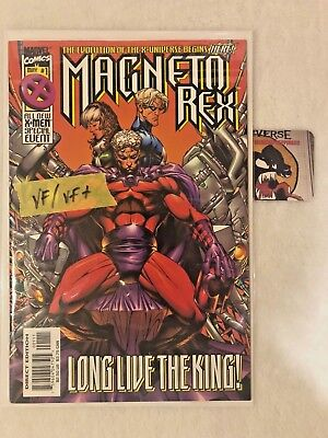 Magneto Rex #1 1999 VF/VF+ Marvel Comics Long Live the King