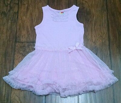 Size 24 Months Fancy pink Tutu Tulle Girls Dress by Healthtex Summer Clothes