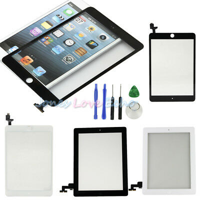 Touch Screen Glass Digitizer Assembly Replacement for iPad 2 3 4 Air1 2 Mini 2 3