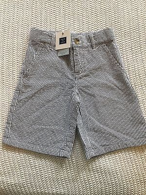 Janie and Jack Seersucker Shorts 5 NWT  $36 HTF!