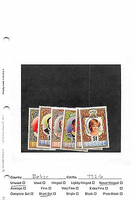 Lot of 29 Belize MNH Mint Never Hinged Stamps #98604 X R