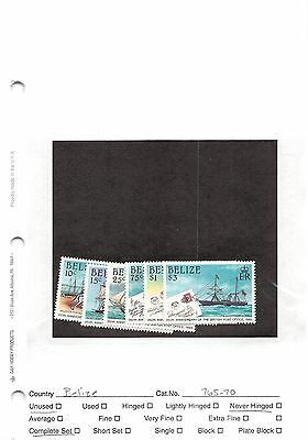 Lot of 39 Belize MNH Mint Never Hinged Stamps #98601 X R