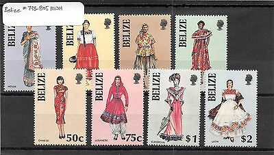 Lot of 18 Belize MNH Mint Never Hinged Stamps #98594 X R