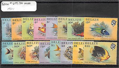 Lot of 26 Belize & Cook Island MNH Mint Never Hinged Stamps #98593 X R