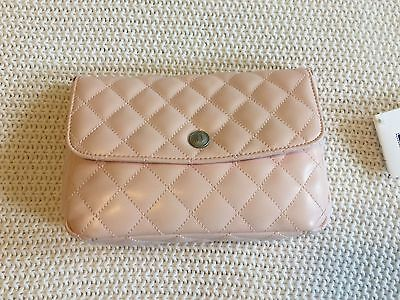 Janie And Jack Quilted Faux Leather Light Pink Purse All Seasons NWT HTF