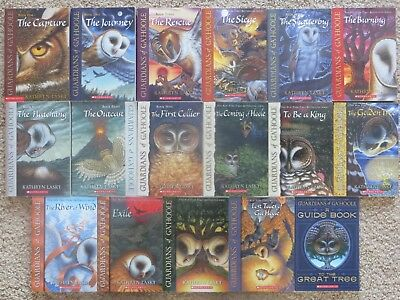 Lot of 17 Guardians of Ga'Hoole book series by Kathryn Lasky