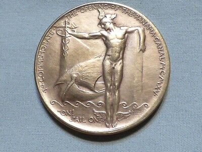 1915 San Francisco Panama Pacific World's Fair Token Panama Canal - Item 20
