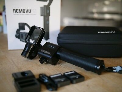 Removu S1 GoPro gimbal - Water Resistant - Extra Battery - Excellent condition!