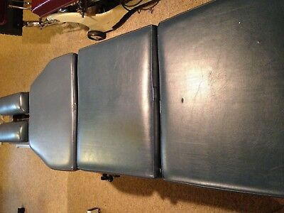 Scrip Stationary Chiropractic Table with drop peice. No Reserve!!