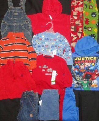 Boys Winter Clothes Lot 12 months COLUMBIA Snowsuit Timberland Carters Pajamas
