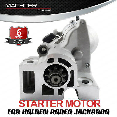Machter Starter Motor for Holden Jackaroo UBS Rodeo V6 6VD1 6VE1 3.0L 3.2L 3.5L