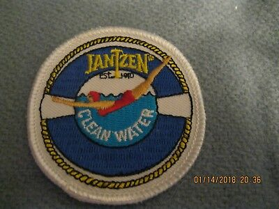Jantzen memorabilia: Jantzen Clean Water diving girl appliques