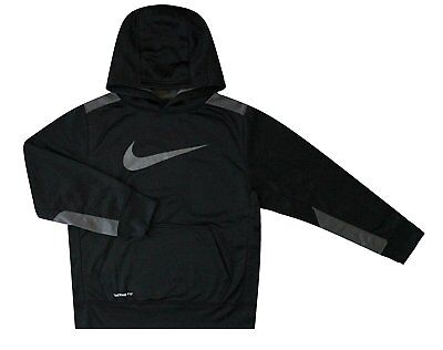 Nike Youth boy's KO 3.0 Therma-FIT Pullover Hoodie S M