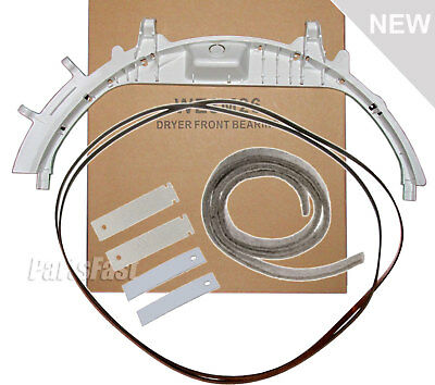 GE Dryer Bearing Belt Felt Slides Kit (Check Model Fit List)