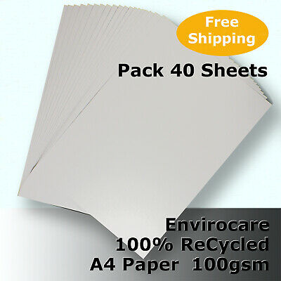 50 Sheets Cyclus 100% ReCycled Paper A4 Size 100gsm Natural Colour #S3111 #F2