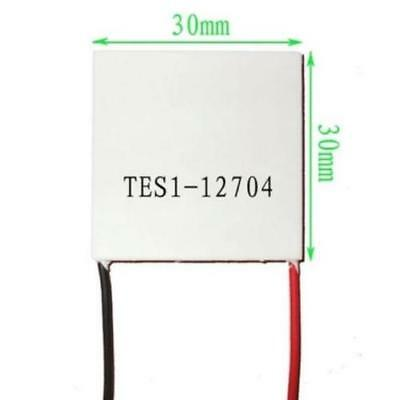 5 Pcs Slim TES1-12704 12V Heatsink TEC Thermoelectric Cooler Peltier 30mm*30mm