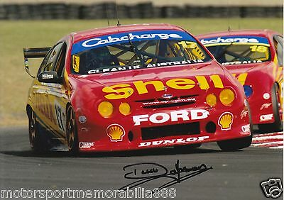Dick Johnson SIGNED 6x4 or 8x12 photos V8 Supercars DJR FORD AU FAST POSTAGE