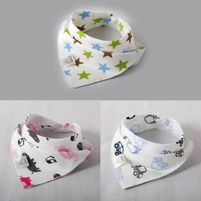 Baby Bibs Saliva Towel Newborn Bandana Dribble Triangle Head Scarf Lovely