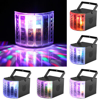 6 LED Stage Lights LED RGBW Sound Active DMX512 Remote Control For Club Disco DJ