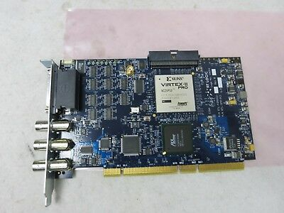 RT Logic RTL DFP PCI General Purpose Card W/ Xilinx Virtex2 Pro FPGA