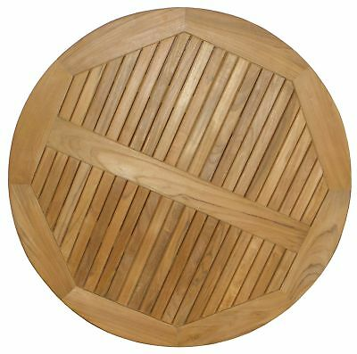 "ATC Teak Round Table Top, 30"" D 30"" Diameter New"