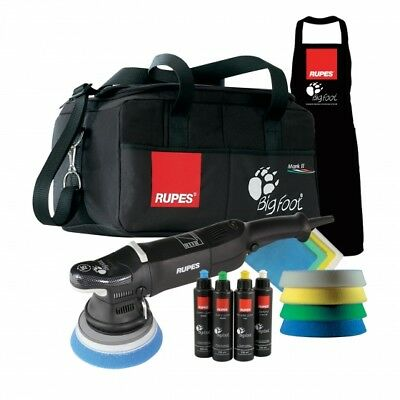 KIT Random orbital polisher set Rupes bigfoot LHR 15 MARK II DLX Warranty 1 year