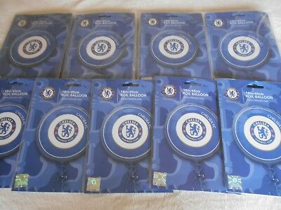 "25 x 18 "" CHELSEA FOOTBALL CLUB Helium Foil Balloons Wholesale Job Lot clearance"