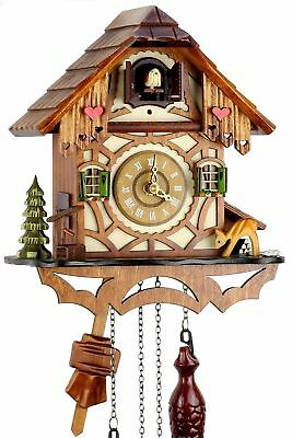Black Forest Cuckoo Clock Uses battery operated quartz movements with cuckoo ...