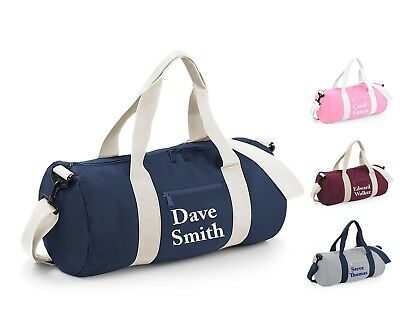 Custom Name Barrel Bag Sport Gym Swim Yoga Dance Swimming Personalised School