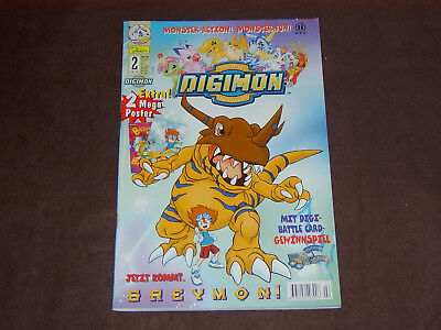 Digimon 2, Dino Verlag, 2000, plus Beilage, TOP!